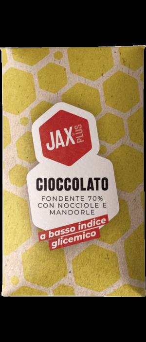 Cioccolato con nocciole e mandorle powered by JAXplus